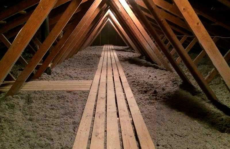 Efterisolering af loftet